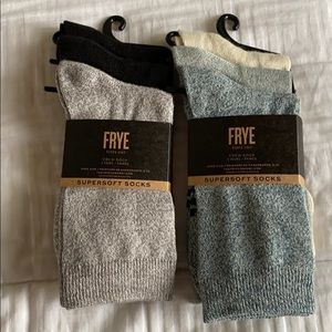 6-Pair Frye Sock Bundle
